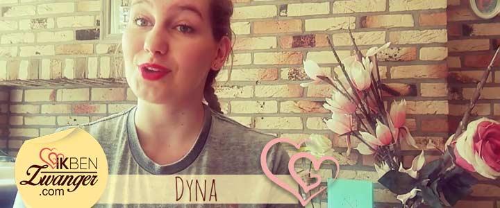 Eerste vlog van Dyna over 15 weken zwangerschap
