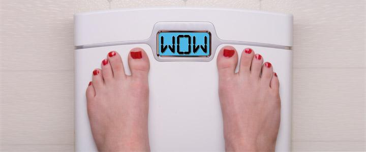 Zwanger en bijna in gewicht verdubbeld